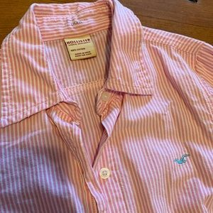 Hollister long sleeve button down